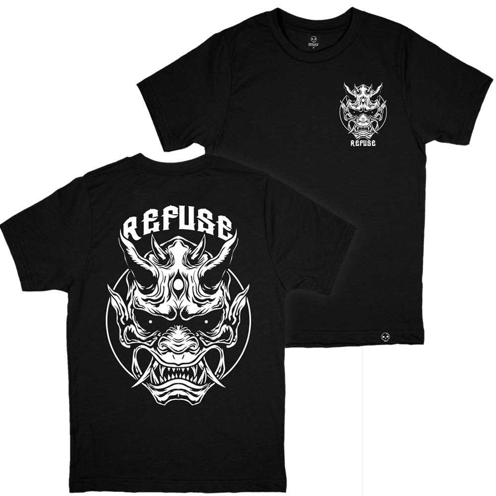 Camiseta Oni Mask Preta