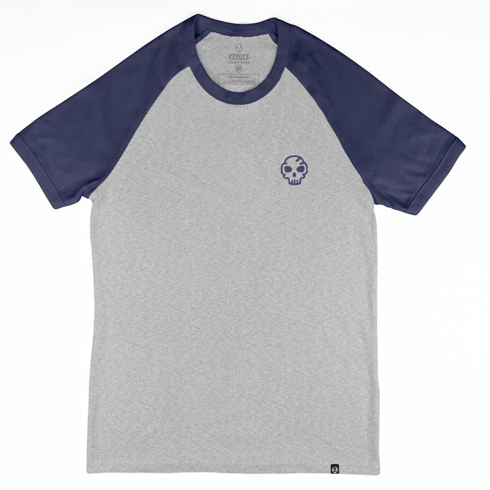 Camiseta Raglan Refuse Logo Basic