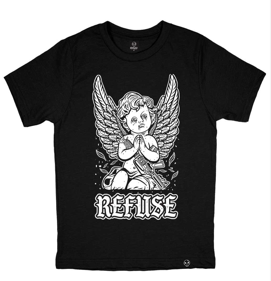 Camiseta Thug Angel Preta