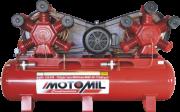 Compressor pistão LINHA INDUSTRIAL - 175 Lb - 2 EST - 120pcm - MAWV-120/500-C/RES.500LT MT.30HP-4P TRIF.220/380V