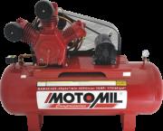 Compressor pistão LINHA INDUSTRIAL - 175 Lb - 2 EST - 40pcm - MAW-40/350I - 10HP TRIF. 220/380V IP-21