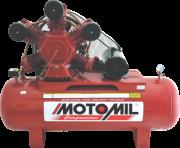 Compressor pistão LINHA INDUSTRIAL - 175 Lb - 2 EST - 60pcm - MAWV-60/350 - 15HP TRIF.220/380V IP-21