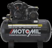 Compressor pistão LINHA PROFISSIONAL - 140 Lb - 1 EST - 10pcm - CMV-10/100 - 2,0HP