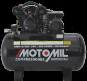 Compressor pistão LINHA PROFISSIONAL - 140 Lb - 1 EST - 10pcm - CMV-10/175 - 2,0HP