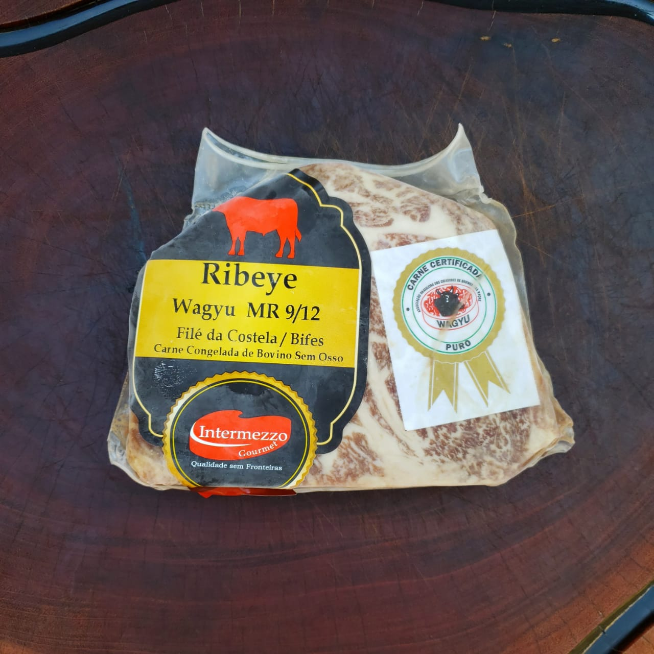 Wagyu - Ribeye - 9/12 - Intermezzo - 370g  - Partiu Churras
