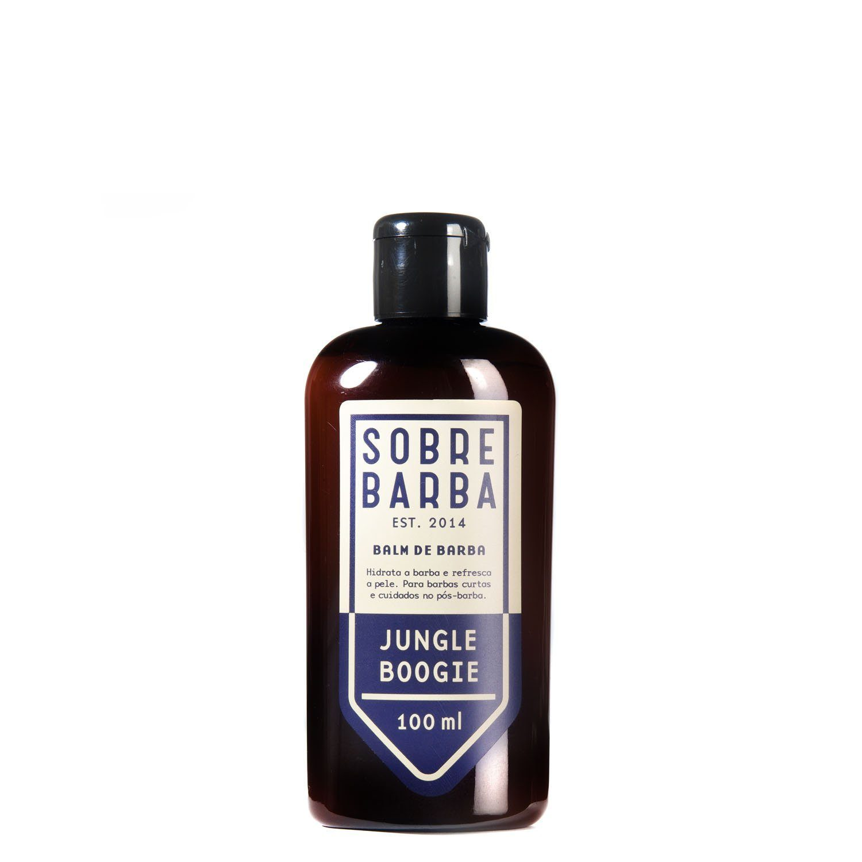 Balm Para Barba Sobrebarba Jungle Boogie - 100ml - Pra Viagem