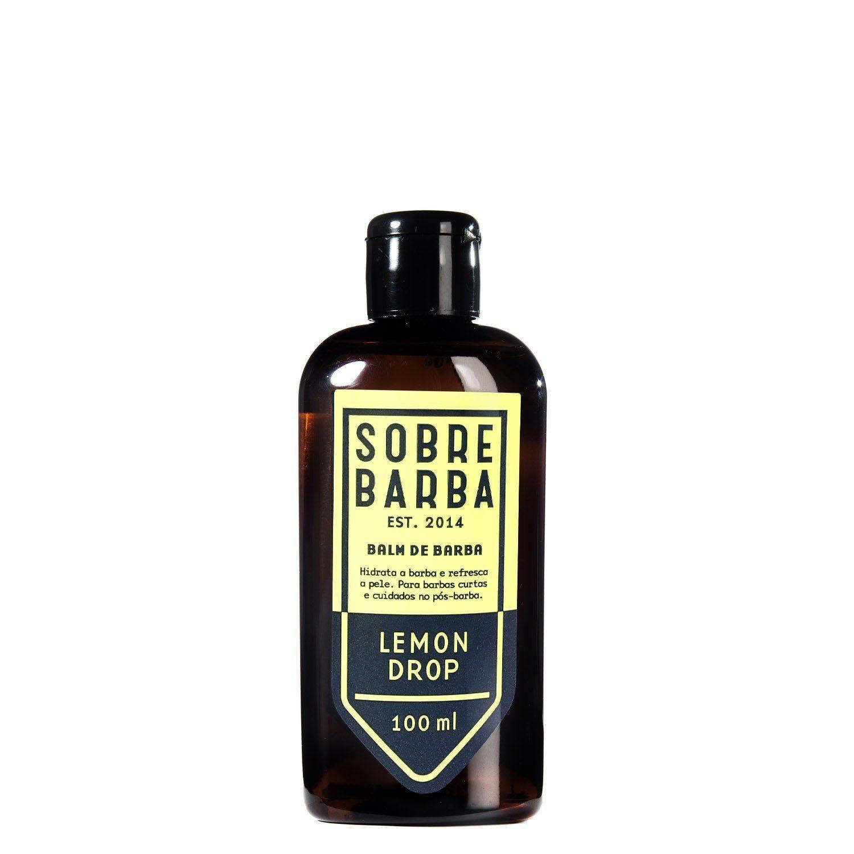 Balm Para Barba Sobrebarba Lemon Drop - 100ml - Pra Viagem