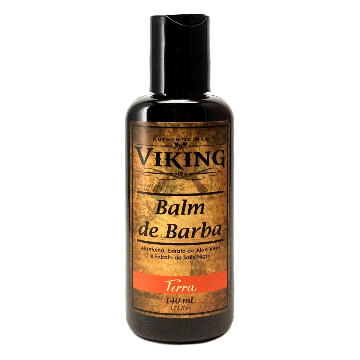 Balm Para Barba Viking Terra 140ml