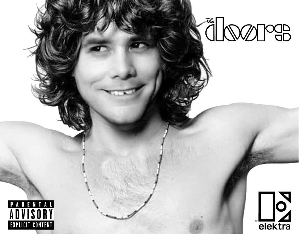 Camiseta Vespper Jim Morrison Branca