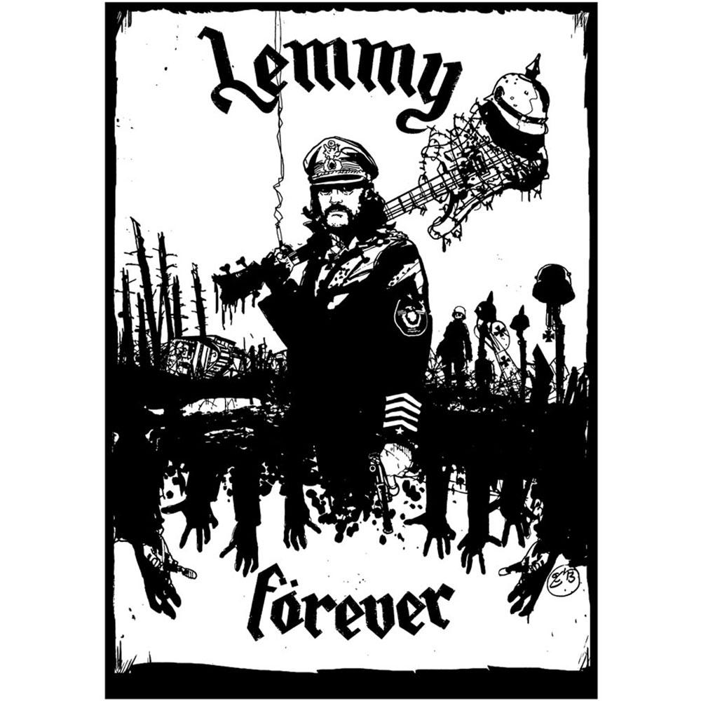 Camiseta Vespper Lemmy Forever Branca