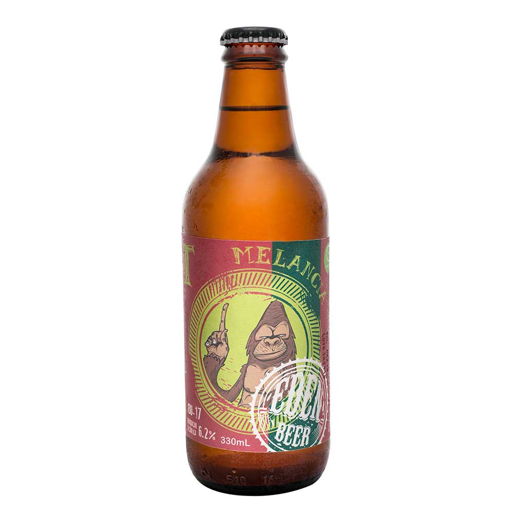 Cerveja Artesanal Patillazo Eden Beer 330ml - American Wheat com Melancia (Fruit Beer)