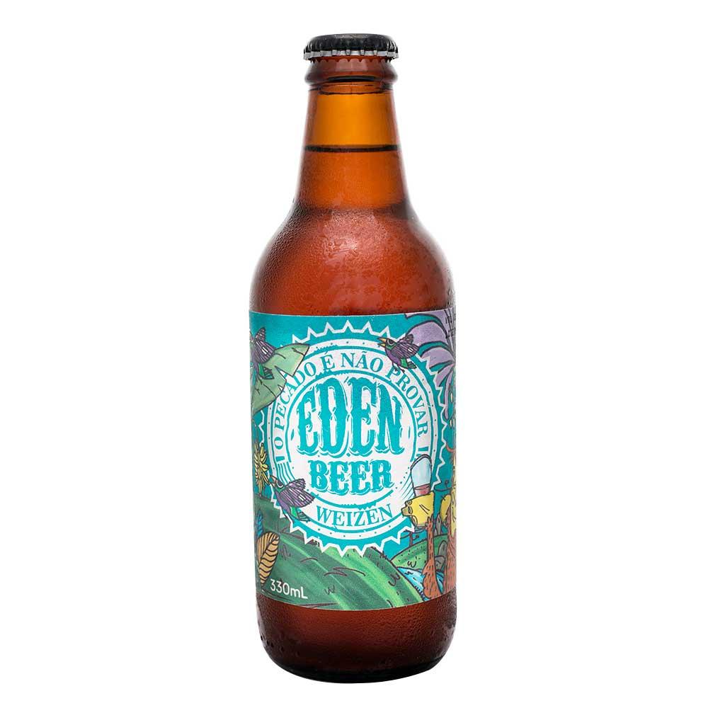 Cerveja Artesanal Trigo Eden Beer 330ml Weiss