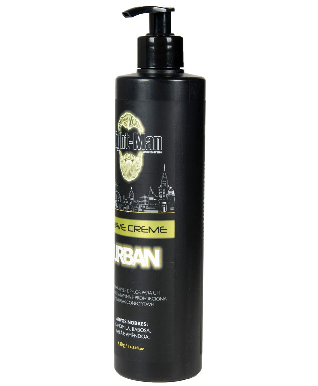 Creme de Barbear Profissional Shave Creme Urban Light Man - 430g