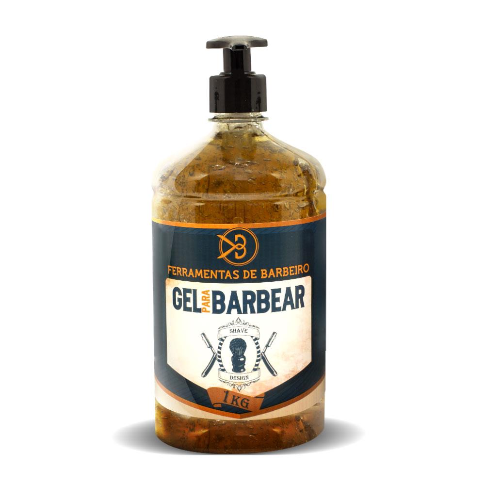 Gel De Barbear Profissional Shave Design Ferramentas De Barbeiro 1KG
