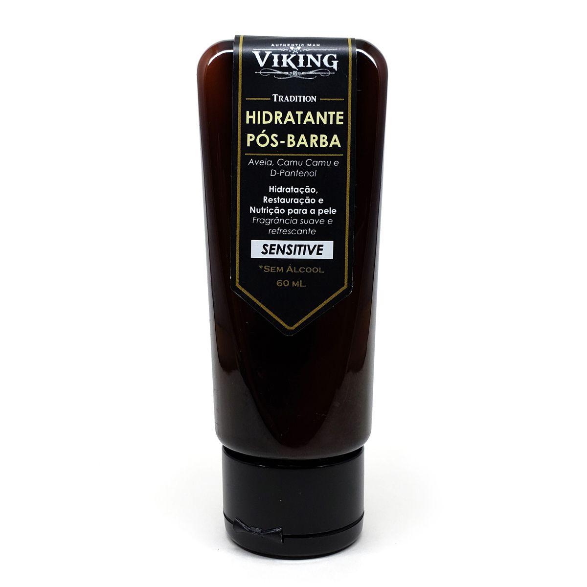 Hidratante Pós-Barba Sensitive Viking Tradiition 60ml