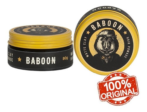 Kit Baboon 2 Pomada Matte Clay Hair Pomade