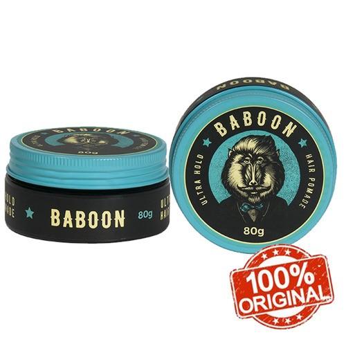 Kit Baboon 2 Pomadas Ultra Hold Hair Pomade - Frete Grátis!