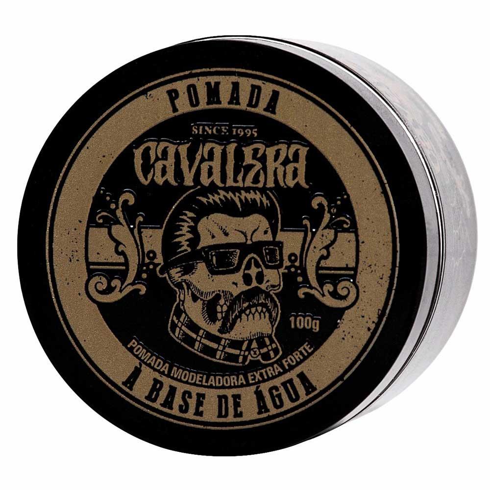 Kit Cavalera 2 Óleos Para Barba 30mL + 1 Pomada Extra Forte 100g