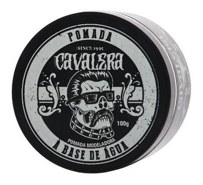 Kit Cavalera Óleo + Loção Pós Barba + Pomada Modeladora Para Cabelo Deluxe