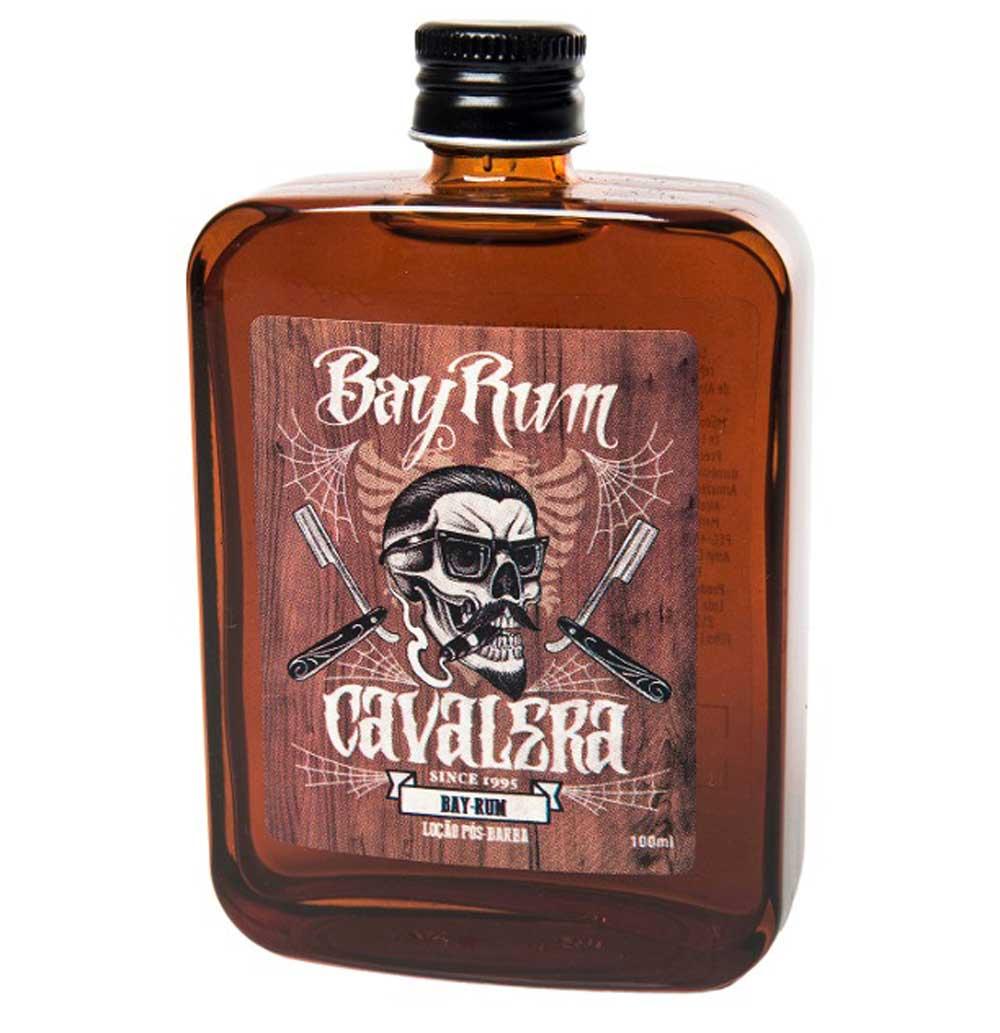 Kit Cavalera Pós Barba Bay Rum + Espuma De Barbear + Óleo