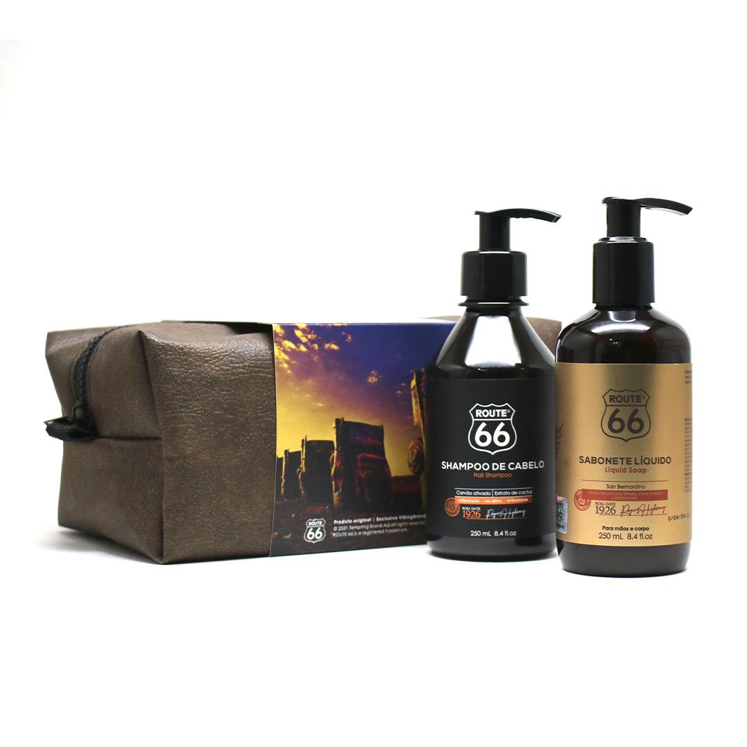 Kit Shampoo E Sabonete Líquido San Bernardino Rota 66 Viking