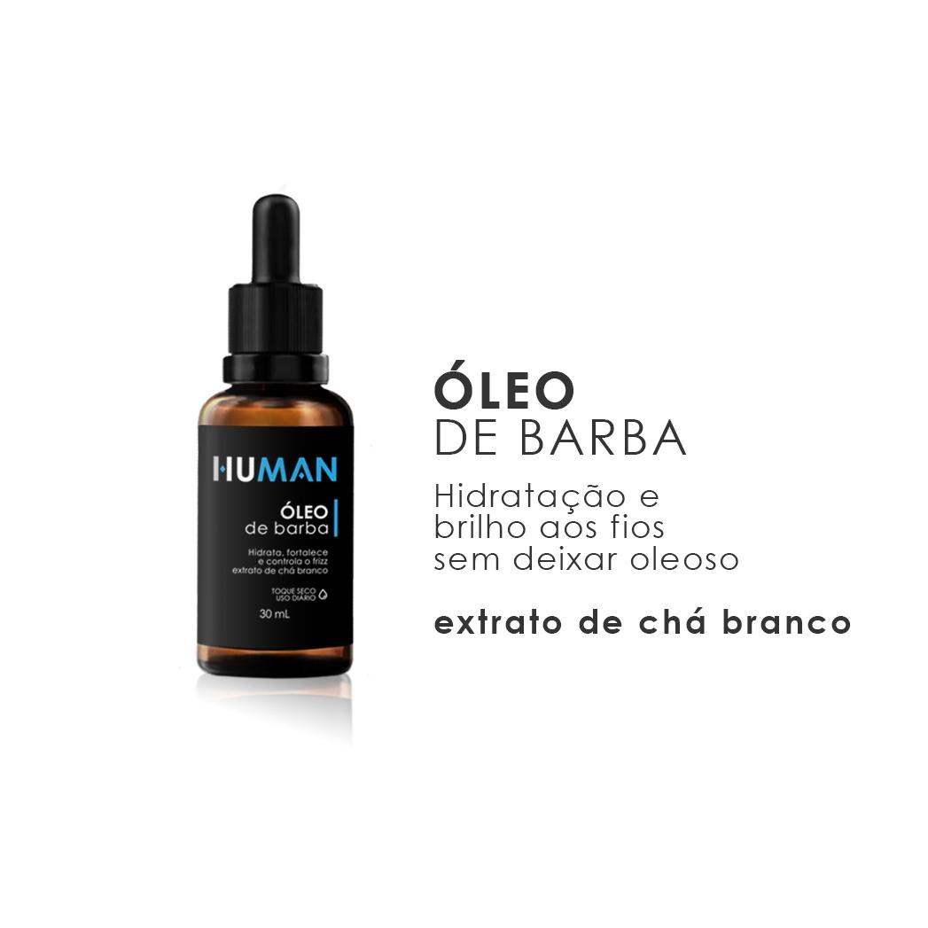 Óleo Para Barba Human - 30ml