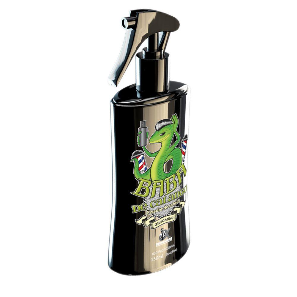 Spray Grooming fixador de cabelo Macho-Lândia - Baba de Calango 250ml