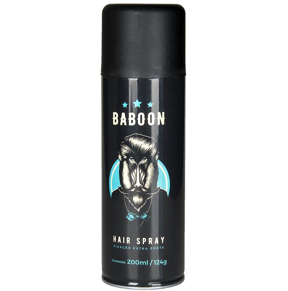 Spray Para Cabelo Hair Spray Extra Forte Baboon - 200mL