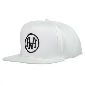 Boné Aba Reta Snapback Hoshwear Athletic Branco