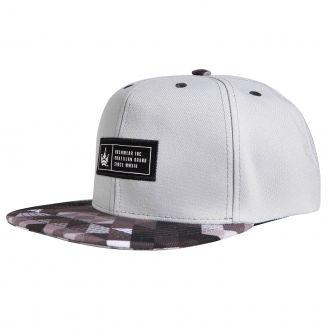 Boné Aba Reta Snapback Hoshwear Geometric Gray