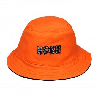 Bucket Hat Dupla Face Hoshwear Laranja
