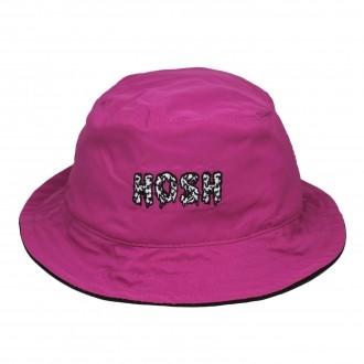 Bucket Hat Dupla Face Hoshwear Rosa Neon