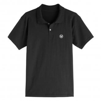 Camiseta Polo Masculina Hoshwear Preta
