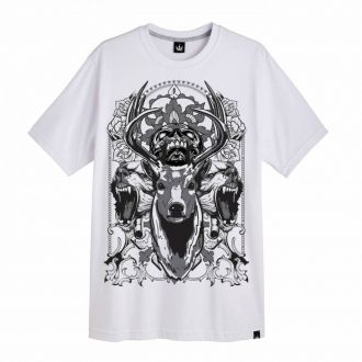 Camiseta Hoshwear Angry Branca
