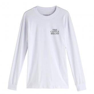 Camiseta Manga Longa Hoshwear HSWR Geo Branca
