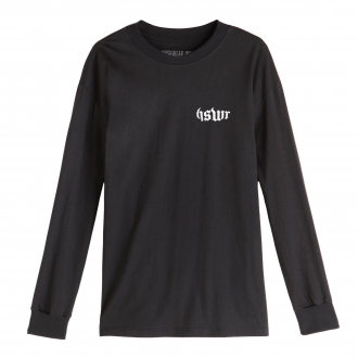 Camiseta Manga Longa Hoshwear HSWR Geo Preta