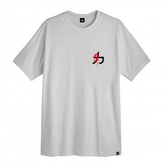 Camiseta Masculina Hoshwear Japanese Dragon Cinza