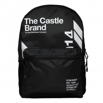 Mochila Hoshwear The Castle Brand Preta