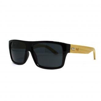 Óculos de Sol Hoshwear Bamboo Square Blacky