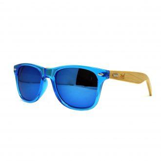 Óculos De Sol Hoshwear Bamboo Supa Blue
