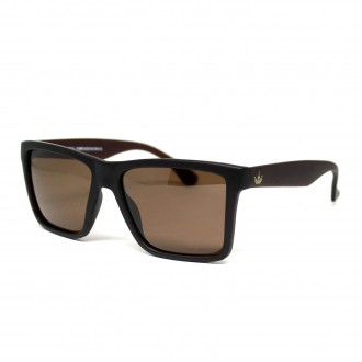 Óculos de Sol Hoshwear Block Marrom