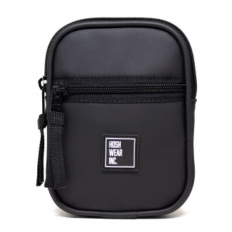 Pocket Shoulder Bag Slim Hoshwear Jelly Preta