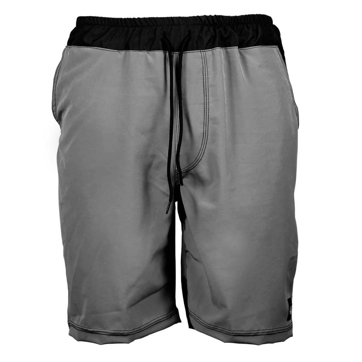 Bermuda Slim Fit Tech Hoshwear Cinza