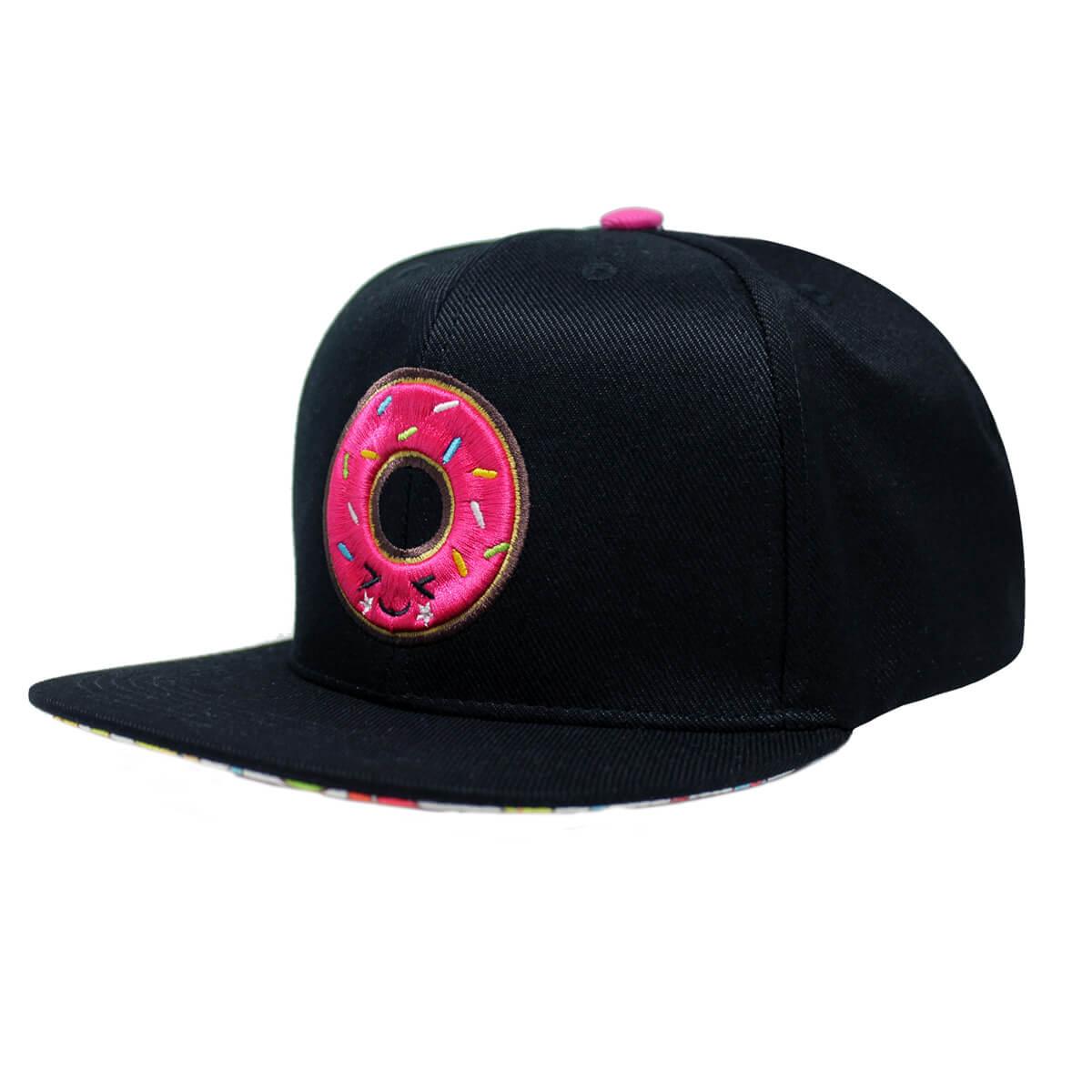 Boné Aba Reta Snapback Hoshwear Donut