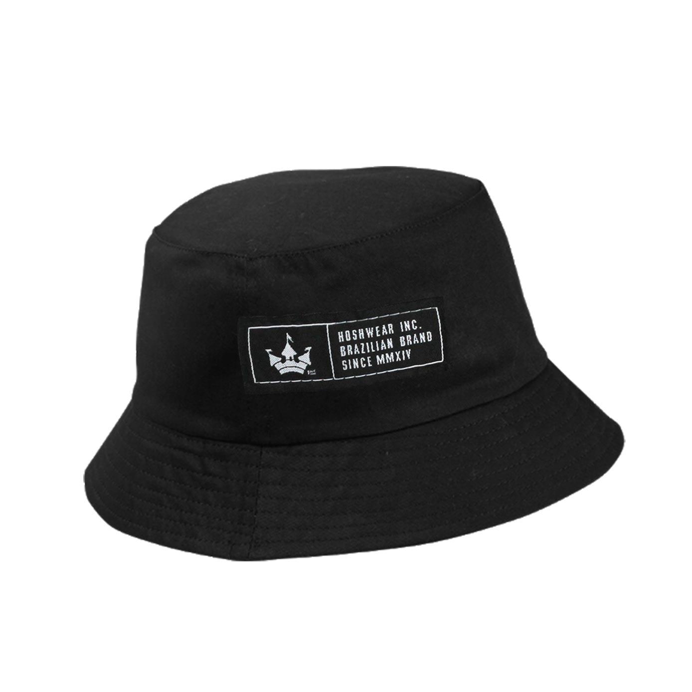 Bucket Hat Dupla Face Hoshwear Preto