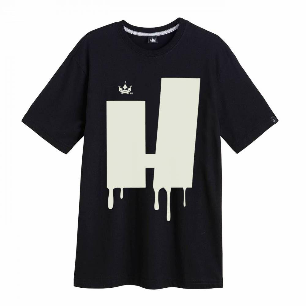 Camiseta Hoshwear Melted Preta