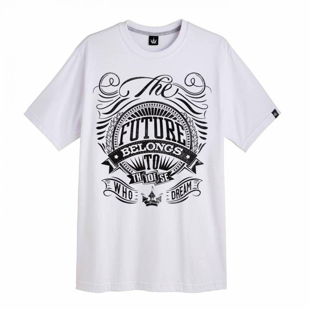 Camiseta Hoshwear The Future Branca