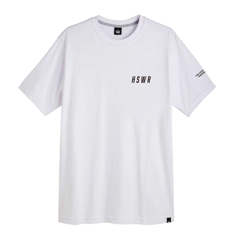 Camiseta Masculina Hoshwear Brazilian Brand Branca