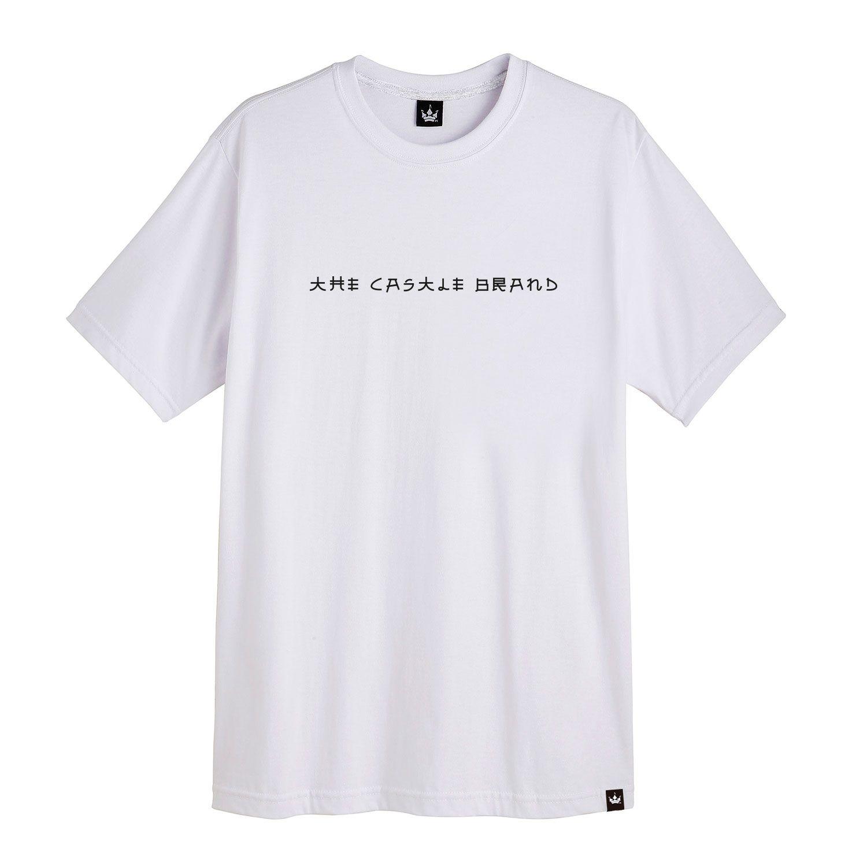 Camiseta Masculina Hoshwear Dragon Branca