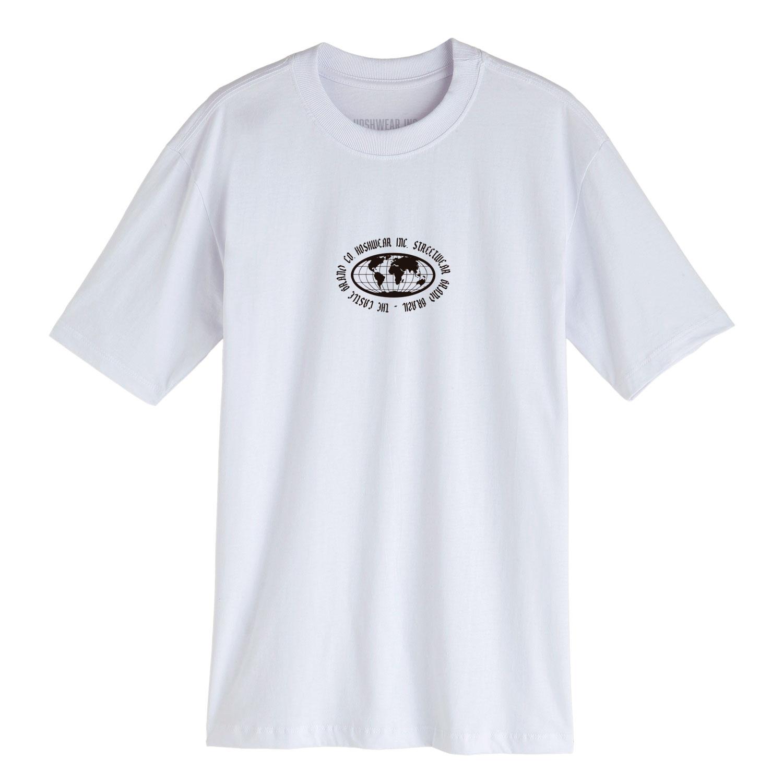 Camiseta Masculina Hoshwear Hand Skull Branca
